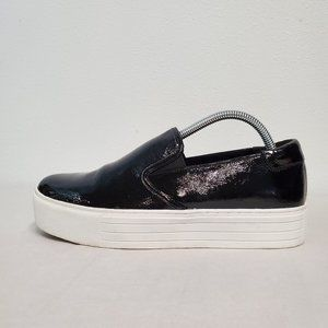 Kenneth Cole Joanie Leather Slip-on Sneakers